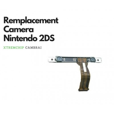 Remplacement camera 2DS