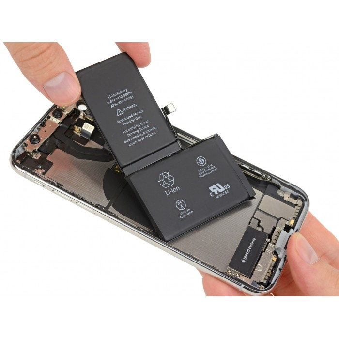 Remplacement batterie iphone X - 0 cycle Premium